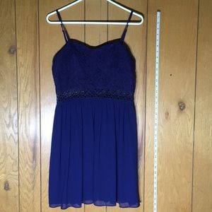 BCX dress size 13 perfect condition Beautiful blue